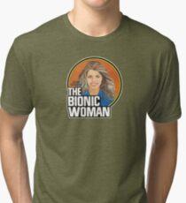 THE BIONIC WOMAN / DOLL TRIBUTE Tri-blend T-Shirt