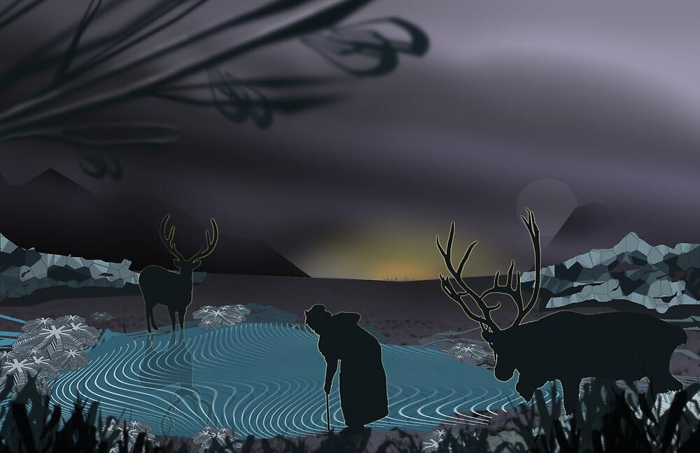 invaders by Brad Lutjens
