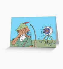 trial and error Greeting Card