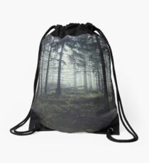 Through The Trees Drawstring Bag