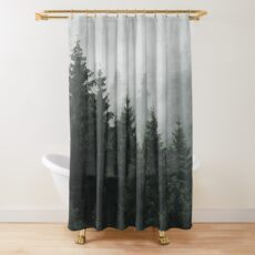 Waiting For Shower Curtain