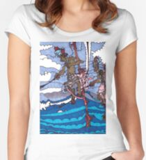 Stilt Fishing Women's Fitted Scoop T-Shirt