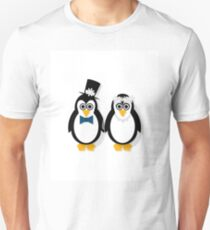 Penguin Bride and Groom T-Shirt