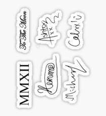 Signature/ Tattoo set Sticker