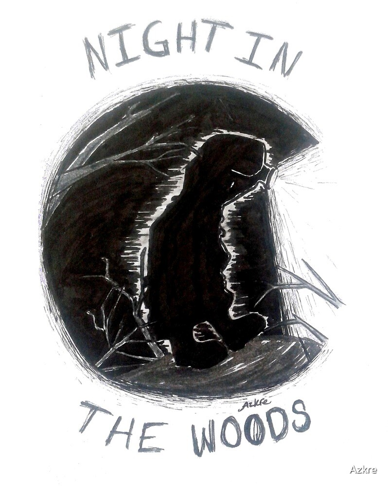Ghost in the Woods by Azkre