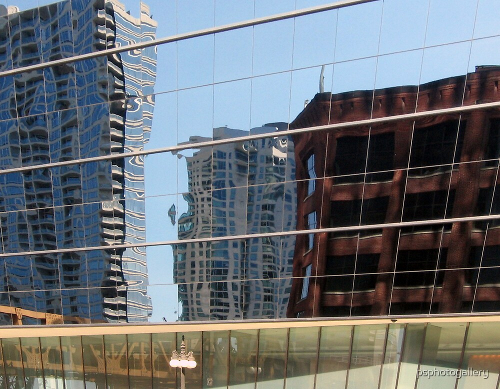 Urban Reflections by psphotogallery