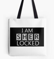 'I Am Sherlocked' Tote Bag