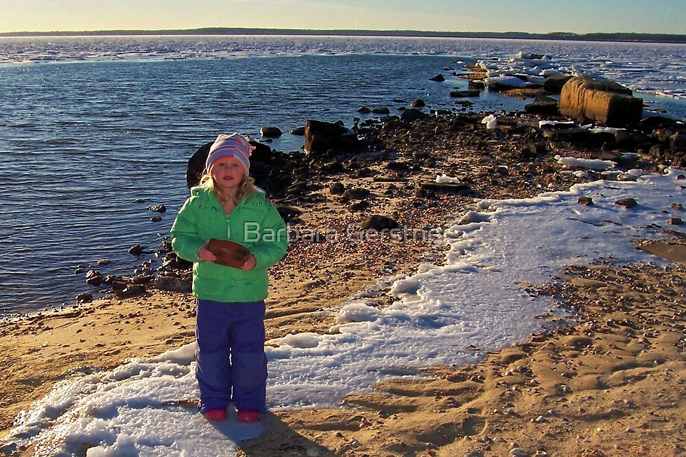 Erin on Ice by Barbara Gerstner
