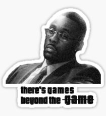 Stringer Bell - games beyond the Game Sticker