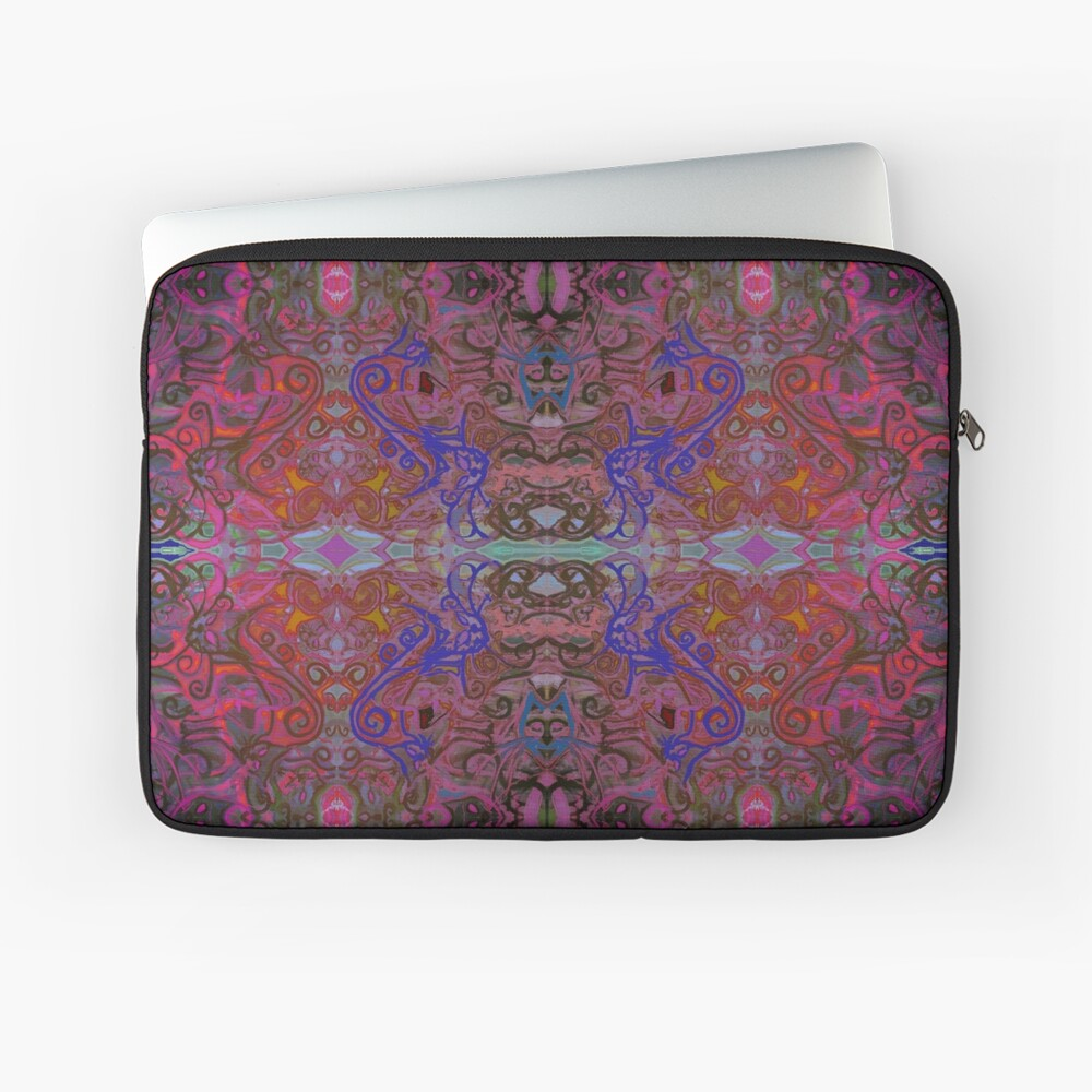 There Are Cats Pattern Laptop Sleeve