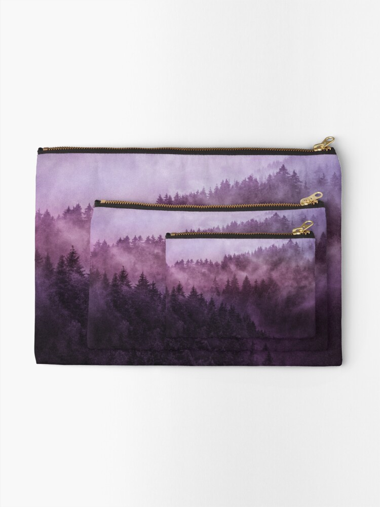 Alternate view of Excuse Me, I'm Lost // Laid Back Edit Zipper Pouch