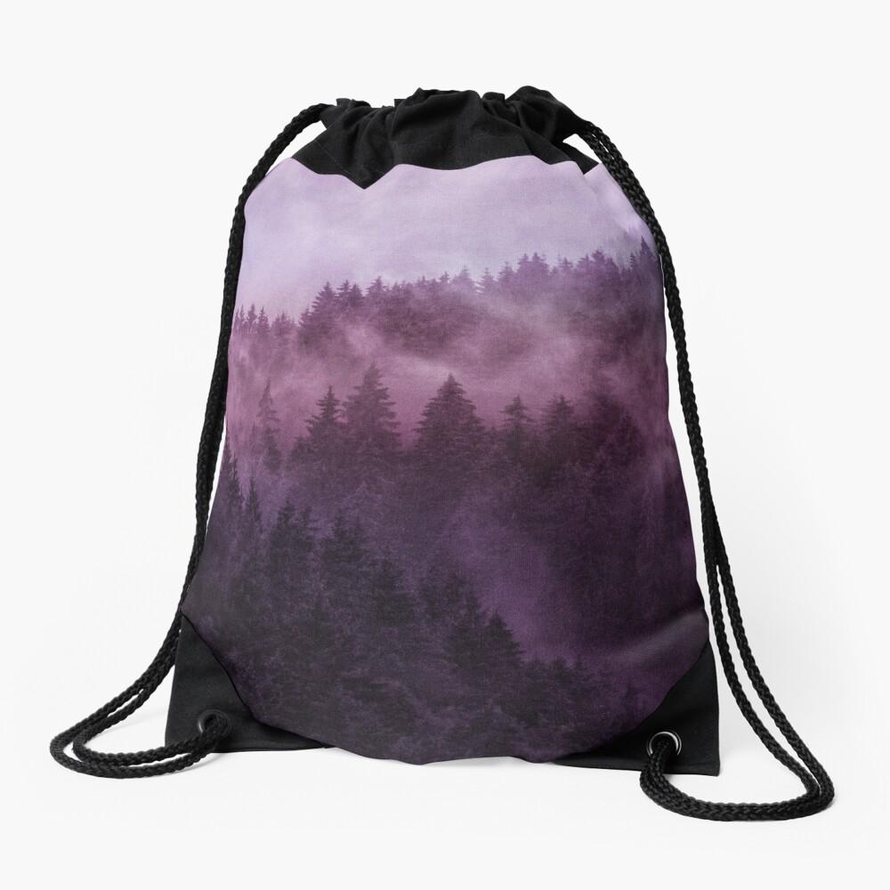 Excuse Me, I'm Lost // Laid Back Edit Drawstring Bag