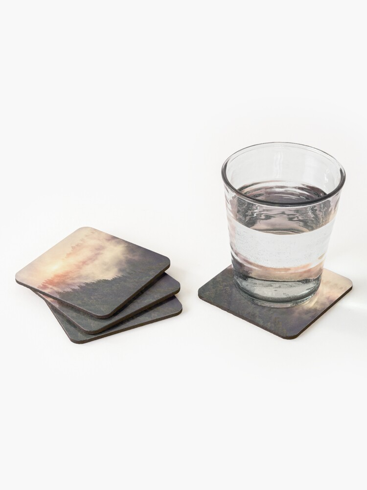 Alternate view of In My Other World Coasters (Set of 4)
