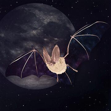 Nebula Night Bat by AdamAether