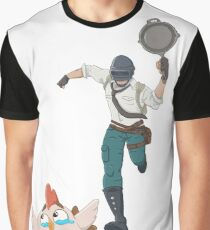 Chasing the Chicken Dinner Graphic T-Shirt