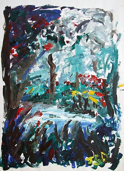 The Swimming Hole by John Douglas