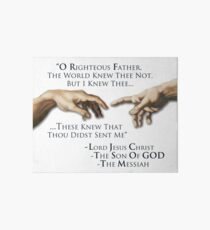 O Righteous Father... Art Board