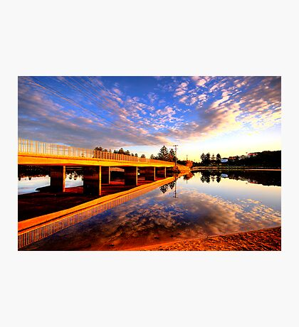 Mirror - Narrabeen Lakes - The HDR Series Photographic Print
