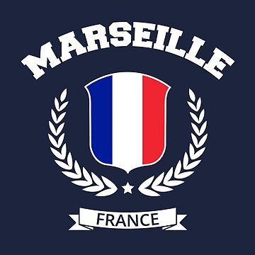 Marseille France T-Shirt by SayAhh