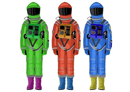 poster  u00ab dave l u0026 39 astronaute de 2001  r u00e9sum u00e9 de l u0026 39 odyss u00e9e de l u0026 39 espace  u00bb  par kcrampton