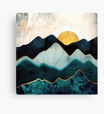 Glacial Hills Canvas Print