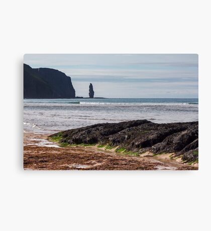Sandwood Bay Sea Stack Canvas Print