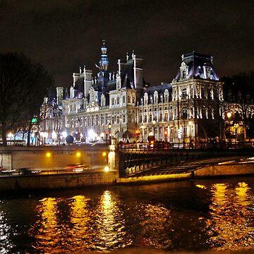 Hôtel de Ville, Paris by czaplewski