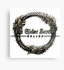 Elder Scrolls Online Logo Metal Print
