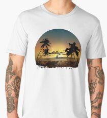 Sunset Men's Premium T-Shirt