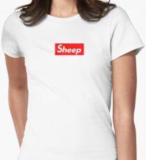 Sheep SUPREME iDubbbzTV Ricegum Women's Fitted T-Shirt