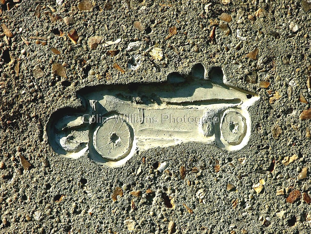 Car in Concrete by Colin  Williams Photography
