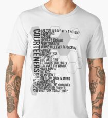Courteeners // Old Trafford Setlist 27th May 2017 Men's Premium T-Shirt