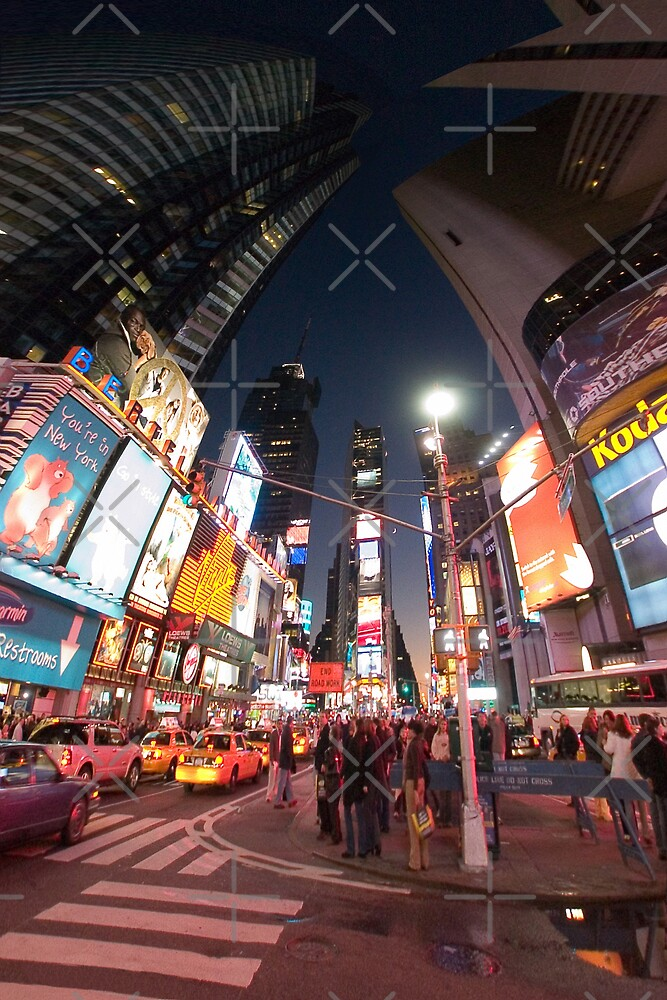 Times Square New York City by Zohar Lindenbaum