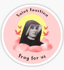 Saint Faustina Sticker