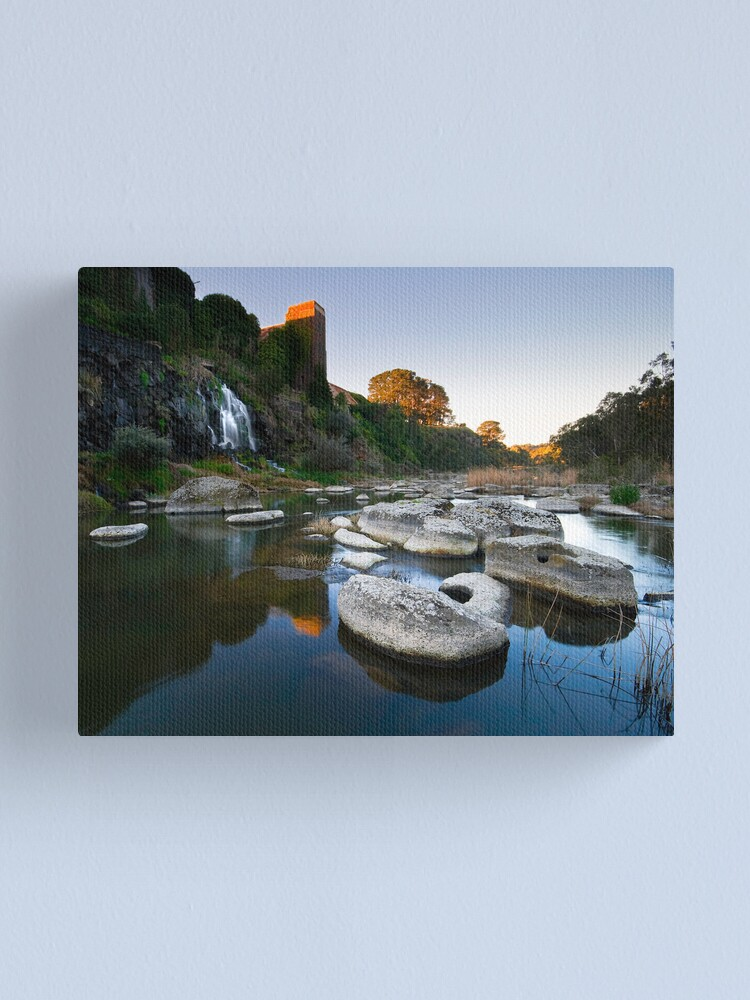 Alternate view of The B-Falls Canvas Print