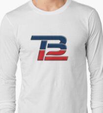 Brady TB12 Red Blue Long Sleeve T-Shirt