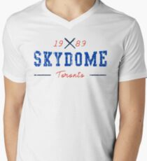 SkyDome Men's V-Neck T-Shirt
