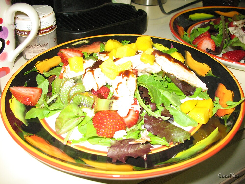 Mango Chicken Salad by CassPics