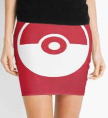 Pokemon Pokeball Mini Skirt