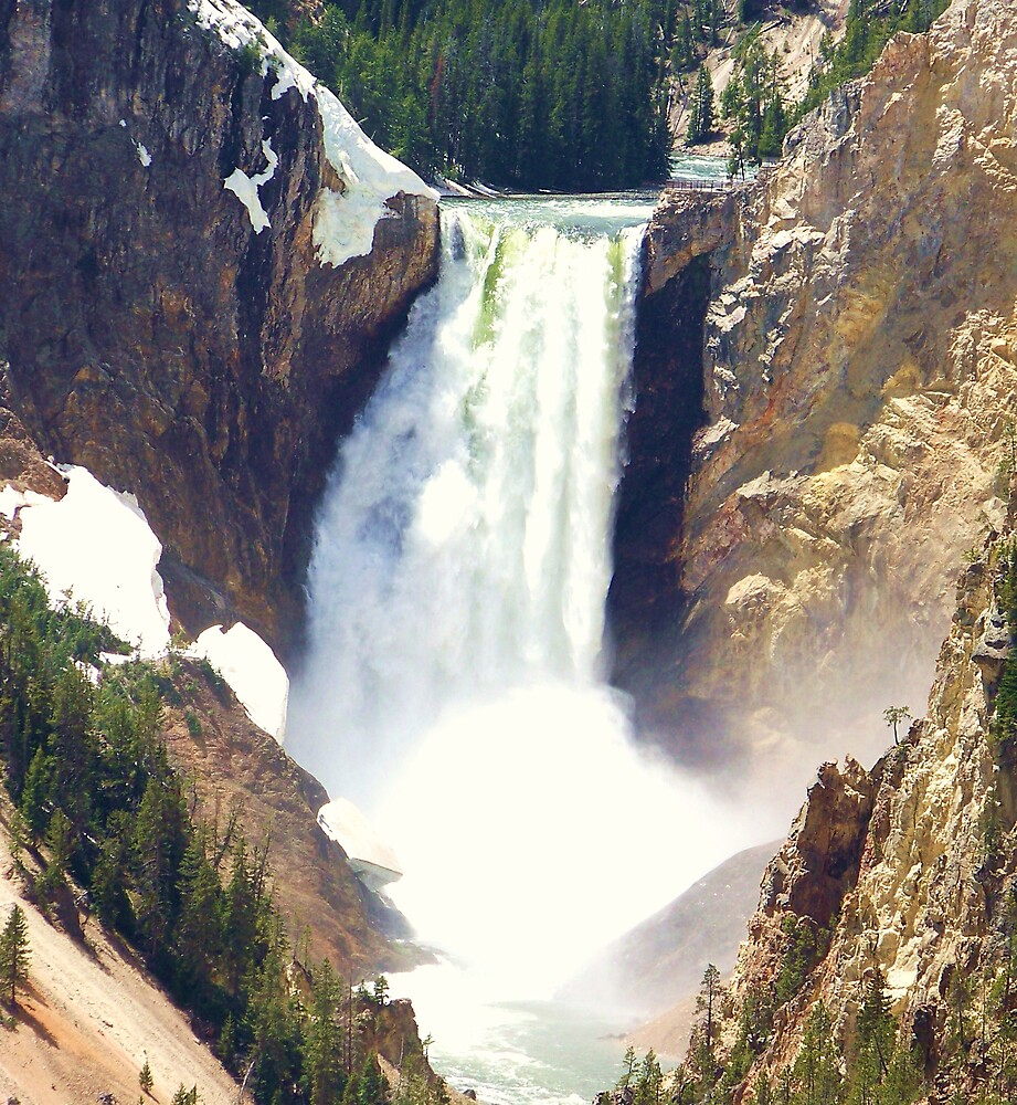Yellowstone Falls by lokn4sure