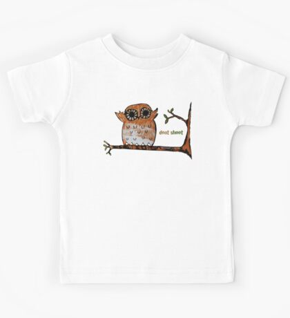 Don't Shoot Owl Kids Clothes