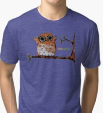 Don't Shoot Owl Tri-blend T-Shirt