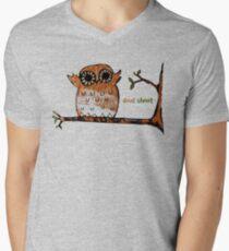 Don't Shoot Owl Men's V-Neck T-Shirt