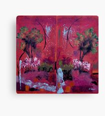 Abstract Outdoors Canvas Print