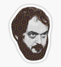 Stanley Kubrick The Shining Carpet Sticker