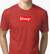 Sheep (iDubbbz Merch) Supreme Tri-blend T-Shirt
