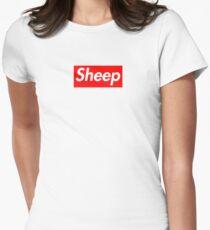 Sheep (iDubbbz Merch) Supreme Women's Fitted T-Shirt