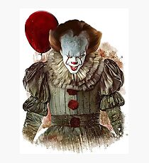 it - pennywise 2017 Photographic Print