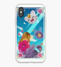 Adventurous Slimes iPhone Case