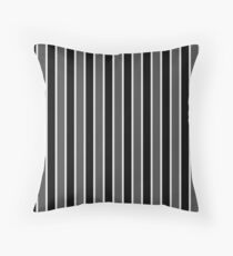 Large Black White and Grey Bedding Stripe Floor Pillow